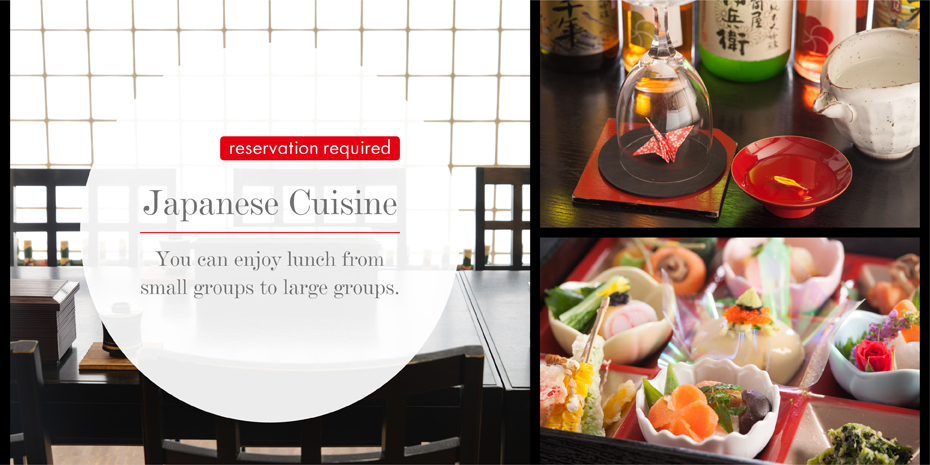 Restaurant Group reservation required