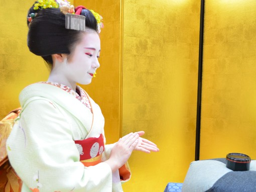 Ozashiki Game and Meet Maiko -Dance and Photo-